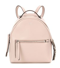 Fendi By The Way Mini Leather Backpack Pink