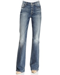7 For All Mankind High Waisted Vintage Boot Cut Jeans