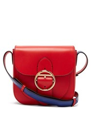 Joseph Knight 25 Leather Cross Body Bag Red