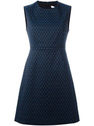 Diane Von Furstenberg 'Madyson' Fitted Dress Black
