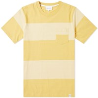 Norse Projects Johannes Block Stripe Tee Yellow