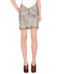 Imperial Star Imperial Skirts Knee Length Skirts Women Light Grey