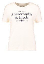 Abercrombie And Fitch Little Boy Print Tshirt White