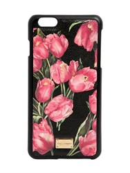 Dolce And Gabbana Tulips Printed Iphone 6 Plus Case