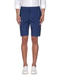 Paul And Joe Trousers Bermuda Shorts Men Slate Blue