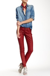 Rich And Skinny Coated Legacy Skinny Jean Red