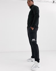 Helly Hansen Yu Logo Joggers In Black