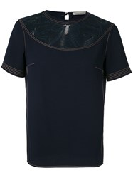 Martha Medeiros Lace Panelled T Shirt 60