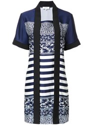 Carven 'Kimong' Dress Blue