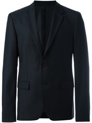 Wooyoungmi Fitted Dinner Jacket Blue