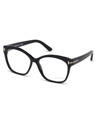 Tom Ford Round Square Optical Frames Black Black Metallic