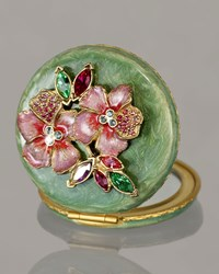 Floral Cluster Compact Jay Strongwater