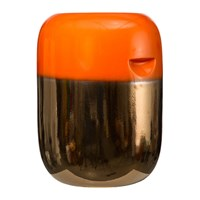 Pols Potten Ceramic Pill Stool Orange Bronze Gradient
