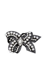 Shourouk Bow Line Rose Pin