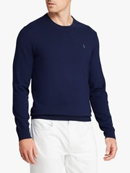 Ralph Lauren Polo Golf By Merino Wool Jumper French Navy