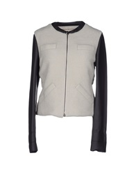 Alysi Down Jackets Light Grey