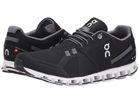 On Cloud Black White Running Shoes