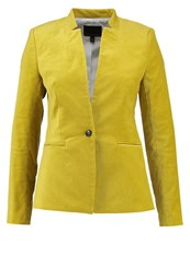Banana Republic Blazer Citron Yellow