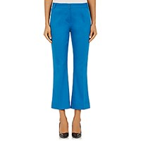 Philosophy Di Alberta Ferretti Women's Twill Flared Crop Trousers Size 0 Us No Color
