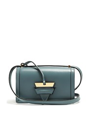 Loewe Barcelona Small Leather Cross Body Bag Light Blue