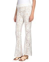 Miss June Casual Pants Ivory