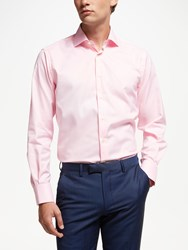 Smyth And Gibson Non Iron Twill Contemporary Fit Shirt Pink