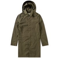 Mackintosh Nylon Hooded Mac Green