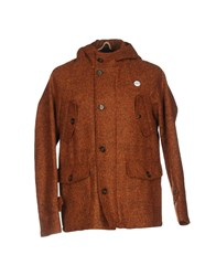Equipe 70 Equipe' Coats And Jackets Coats Rust