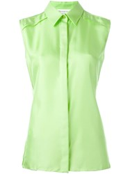Maison Martin Margiela Sleeveless Shirt Green