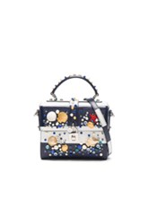 Dolce And Gabbana Top Handle Bag In Blue White Blue White