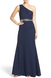 Eliza J Women's Embellished Knit Gown