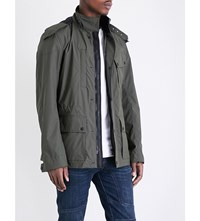Belstaff Danesfield Hooded Shell Parka Sage Green