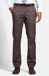 Men's Big And Tall Bonobos 'Weekday Warrior' Non Iron Slim Fit Cotton Chinos Thursday Browns