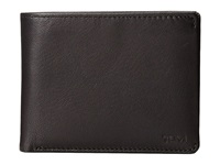 Tumi Chambers Global Removable Passcase Id Wallet Black Bill Fold Wallet
