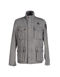 Blauer Coats And Jackets Jackets Men Grey