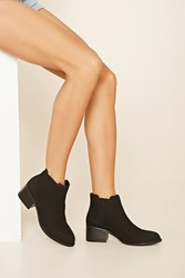 Forever 21 Leather Chelsea Boot