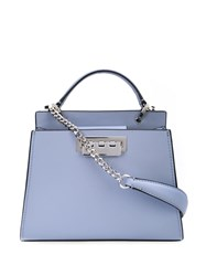 Zac Posen Earthette Double Compartment Mini Blue