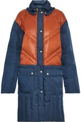 By Malene Birger Dorav Quilted Shell Down Coat Blue