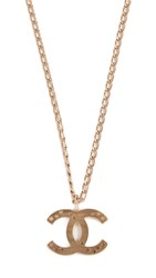 Wgaca What Goes Around Comes Around Chanel Cc Star Necklace Gold