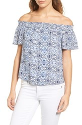 Cooper And Ella Women's Sabrina Off The Shoulder Blouse
