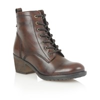 Lotus Malia Ankle Boots Brown