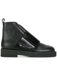 Marni Touch Strap Boots Black