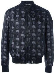 Philipp Plein 'Loop' Bomber Jacket Black