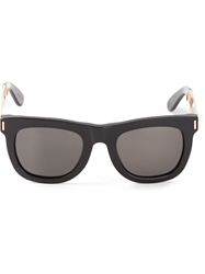Retro Super Future 'Ciccio Francis' Sunglasses Black