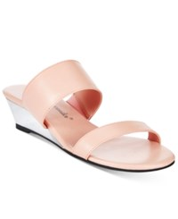 Callisto Athena Alexander By Spendit Wedge Sandals Women's Shoes Blush