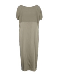 Hache Long Dresses Military Green