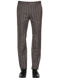 Etro 18Cm Stripe Cool Wool Jacquard Pants