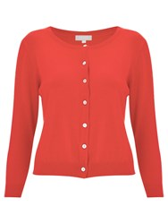 Havren Leona Cropped Cardigan Orange