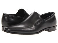 Gordon Rush Elliot Black Calf Slip On Dress Shoes