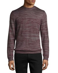 Wesc Amir Knit Wool Blend Sweater Plum